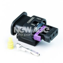 Wtyk obud. 3-pin 4F0973703